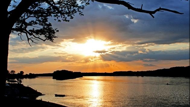 Az aranyló Duna