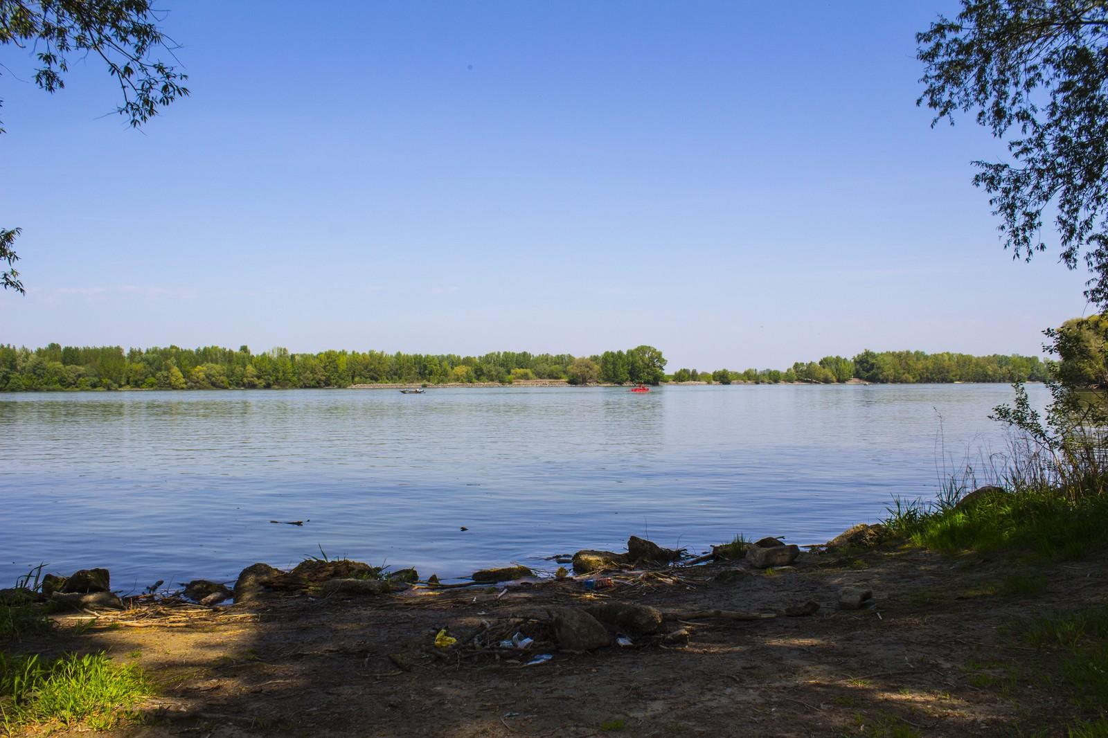 Délután a Duna mellett...