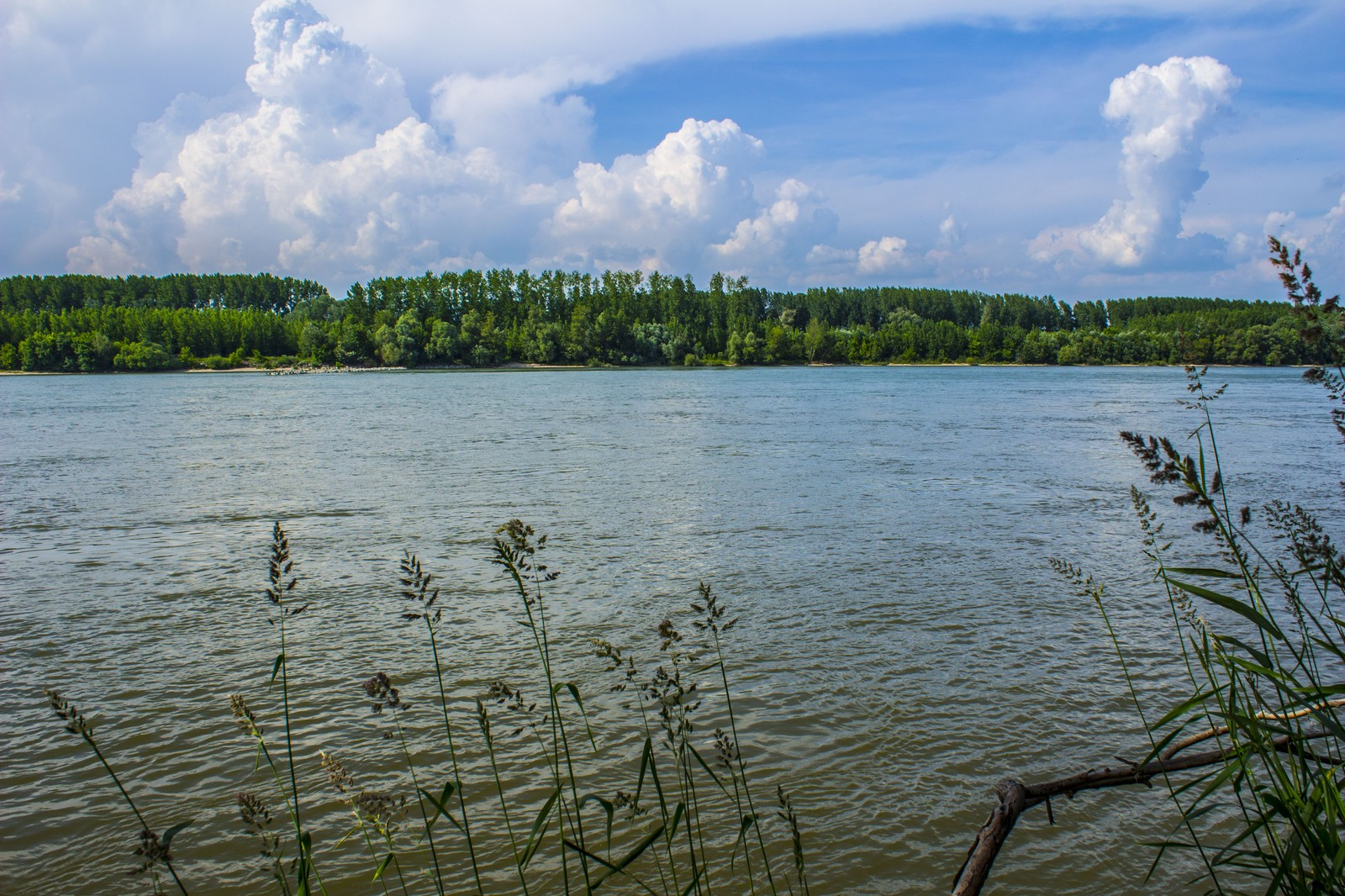 Dunai tájkép